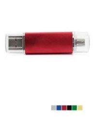 Флешка Doubles, с Micro USB
