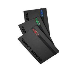 Блокнот А5 <br>Light book<br>(черный)