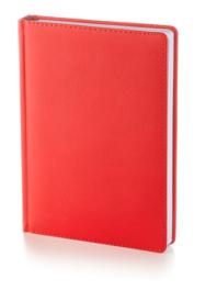 Ежедневник датированный А5 Leader <br>(красный)
