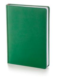 Ежедневник датированный А5 Leader <br>(зеленый)