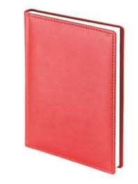 Ежедневник датированный А5 Velvet <br> (красный)
