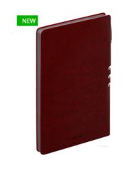 Премиум-блокнот с ручкой А5  Light book (бордо)