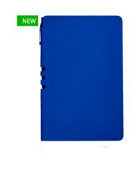 Премиум-блокнот с ручкой А5  Light book (синий)