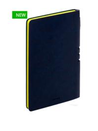 Премиум-блокнот с ручкой А5 Light book (темно-синий)